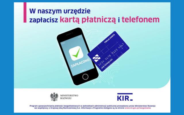 W naszym urzędzie zapłacisz kartą płatniczą i telefonem